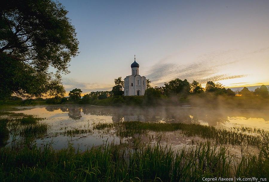 Боголюбово - церковь Покрова На Нерли