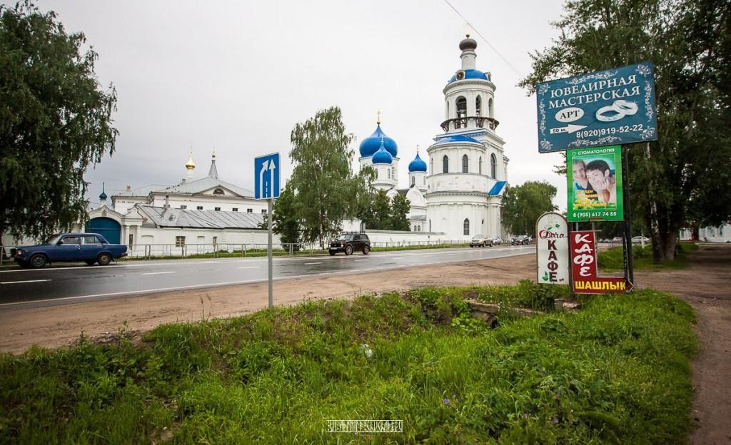 Виды Боголюбского монастыря 01