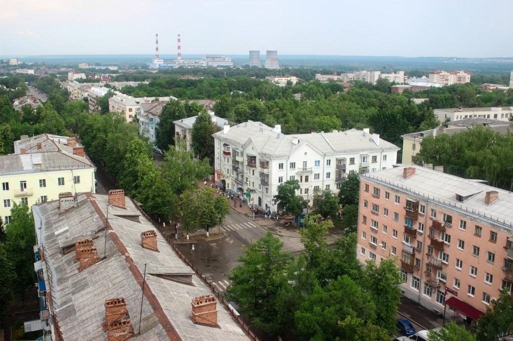 Владимирские крыши от Анастасии Головиной