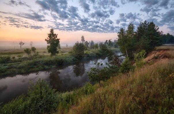 Впечатляет! Владимирская область, река Киржач