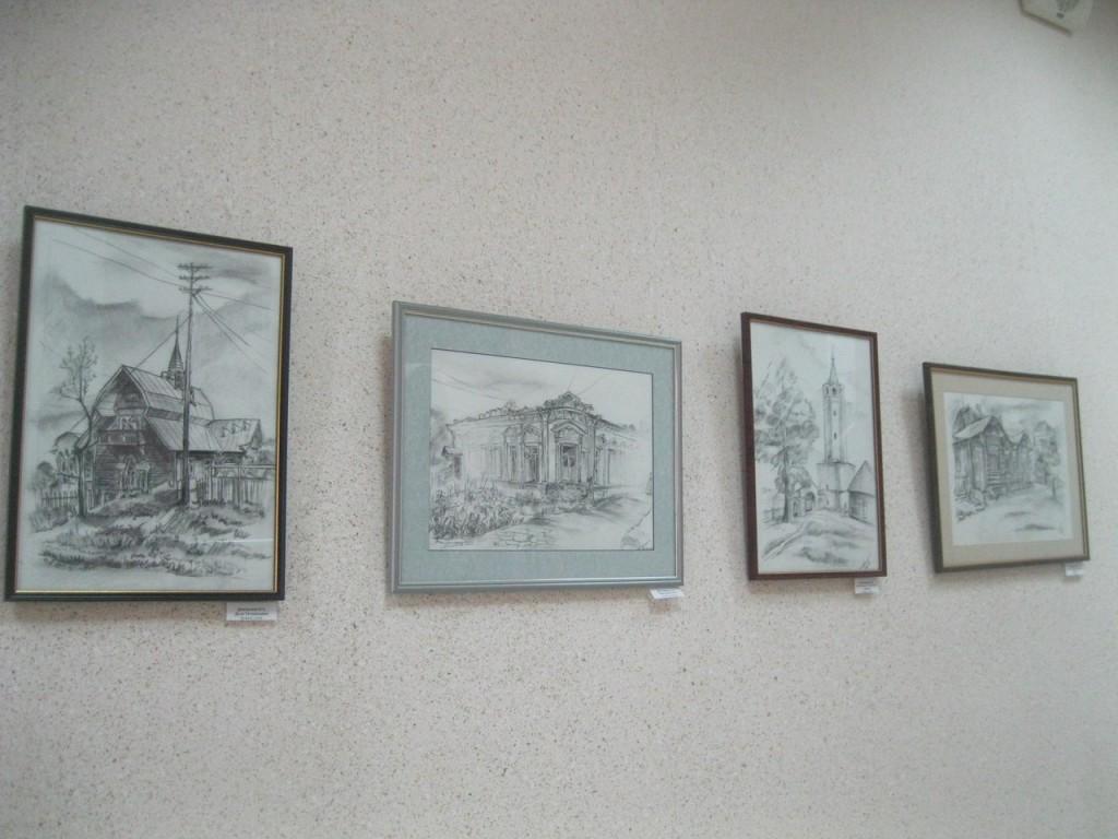 Выставка картин вязниковцев Владимира Ивлева и Елены Дмитриевой 04