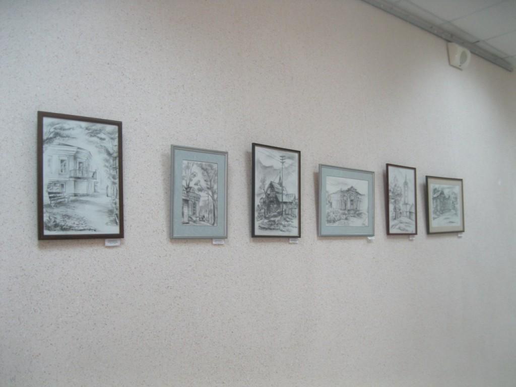 Выставка картин вязниковцев Владимира Ивлева и Елены Дмитриевой 05