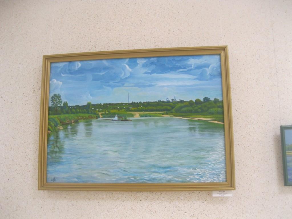Выставка картин вязниковцев Владимира Ивлева и Елены Дмитриевой 10