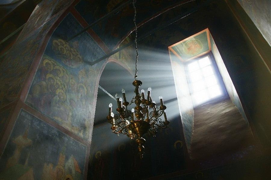 В Свято-Успенском женском монастыре (Александров)