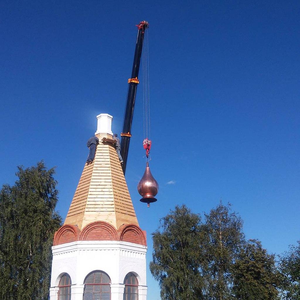 Глава костницы Спасо-Преображенского монастыря г. Мурома