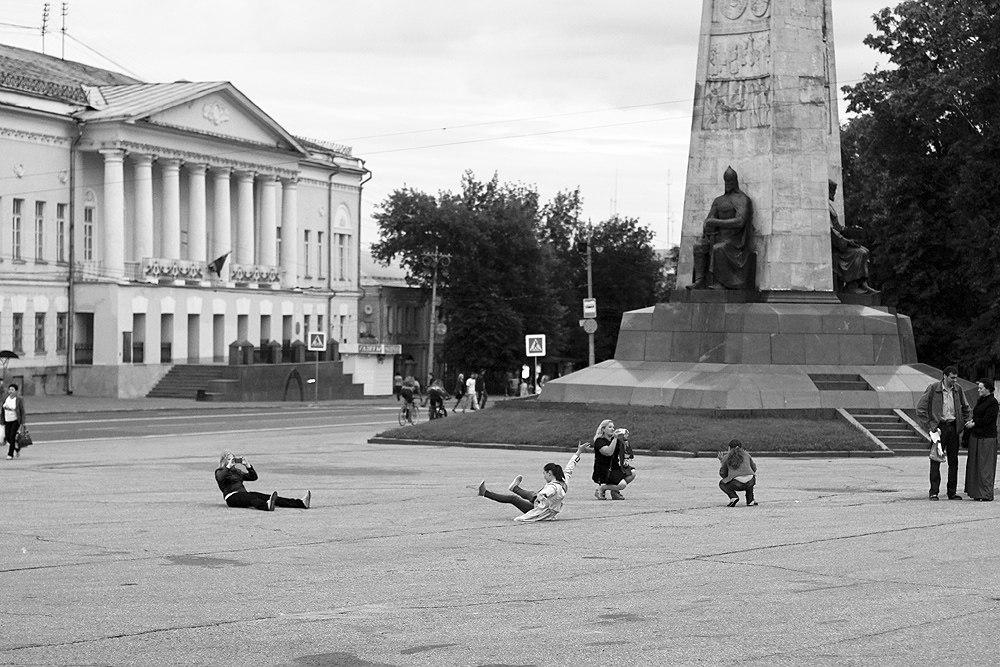 Городские зарисовки от Владислава Тябина 07