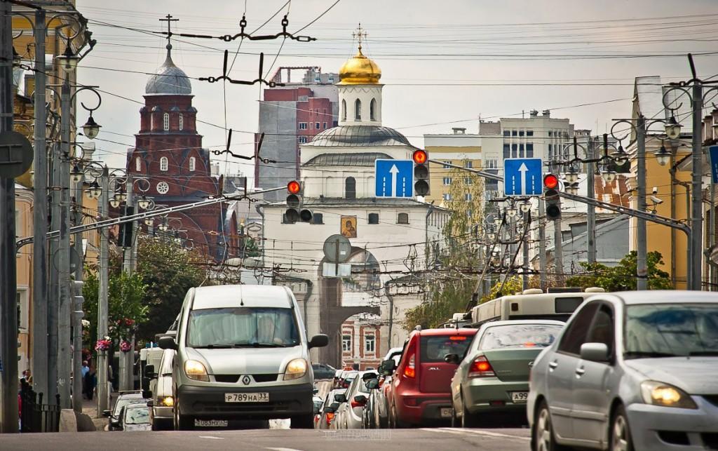 Городской хаос от Владимира Чучадеева во Владимире
