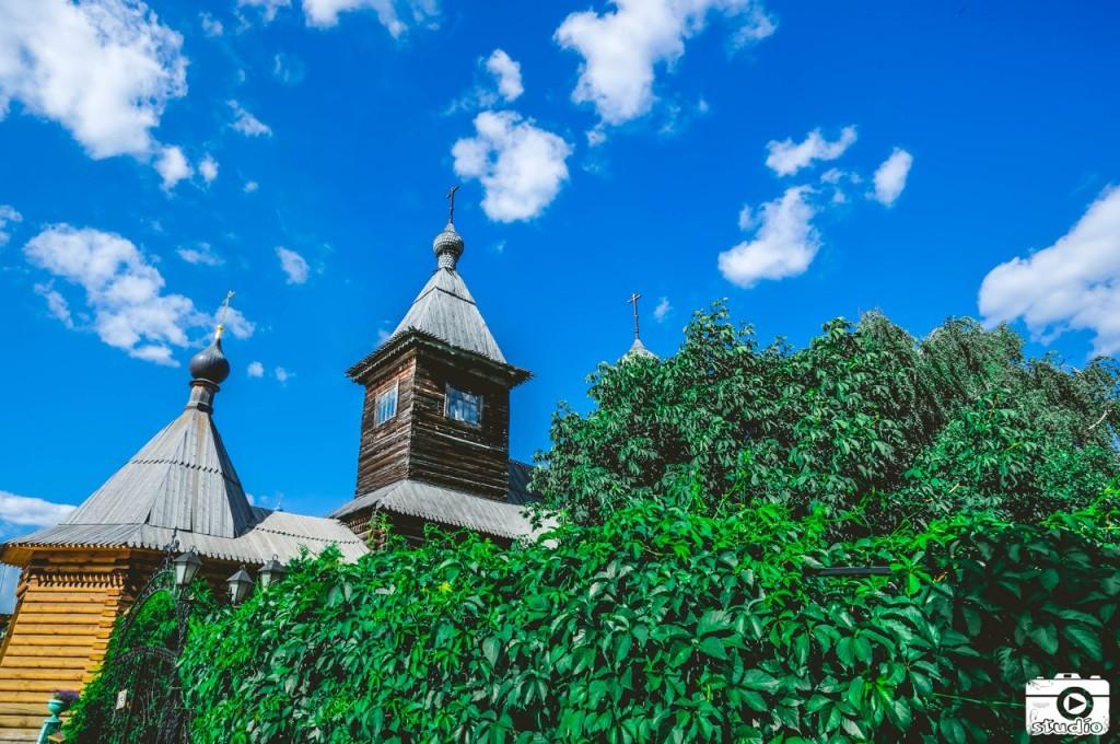 Деревянный Муром Деревянная Церковь 02