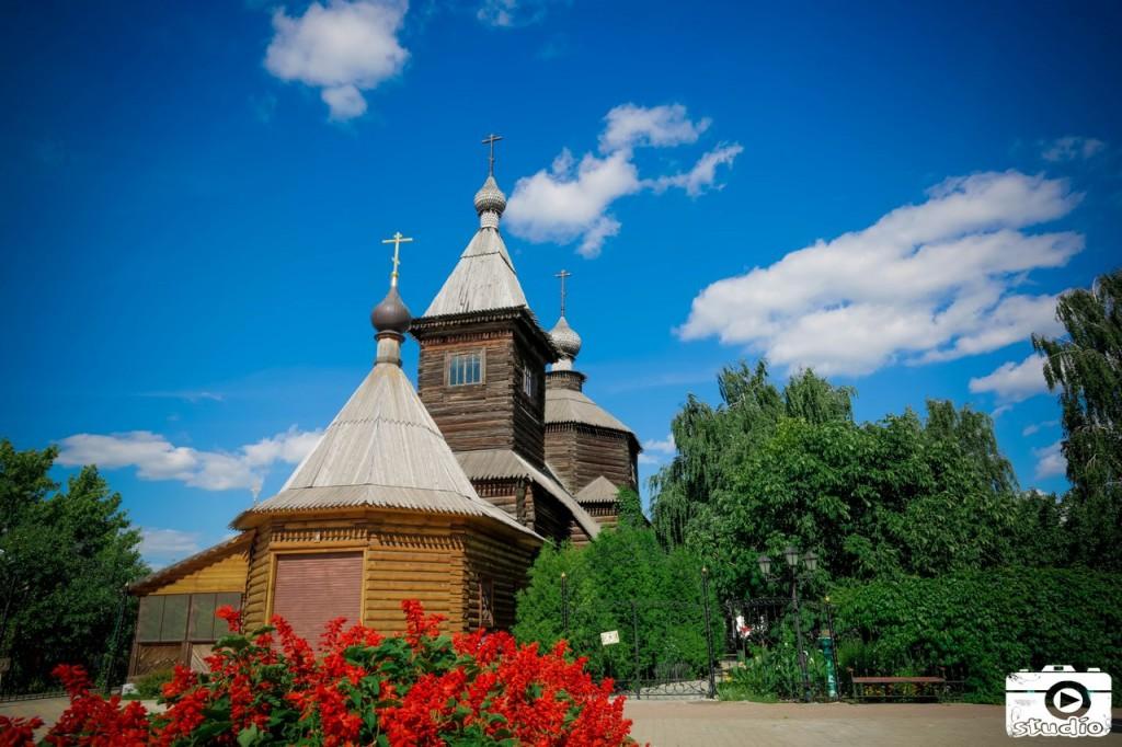 Деревянный Муром Деревянная Церковь