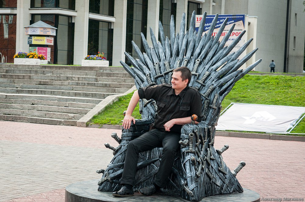Железный трон Вестероса во Владимире 02