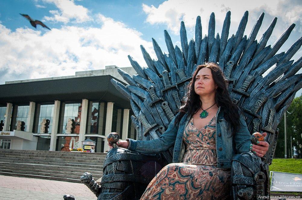 Железный трон Вестероса во Владимире 07
