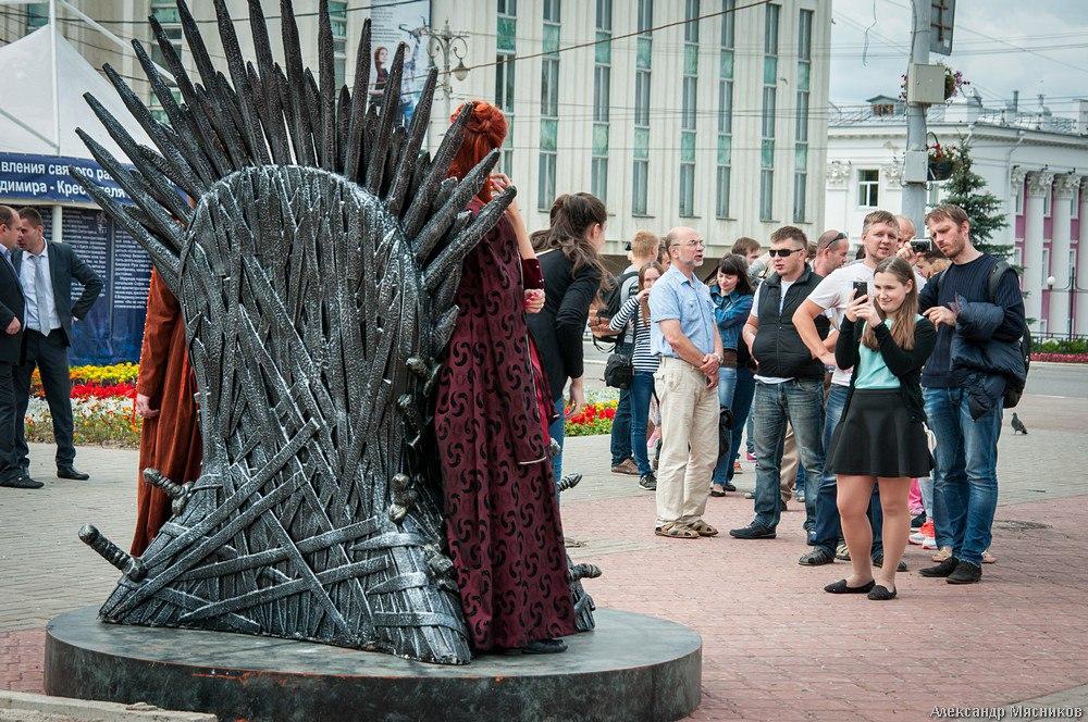 Железный трон Вестероса во Владимире 14