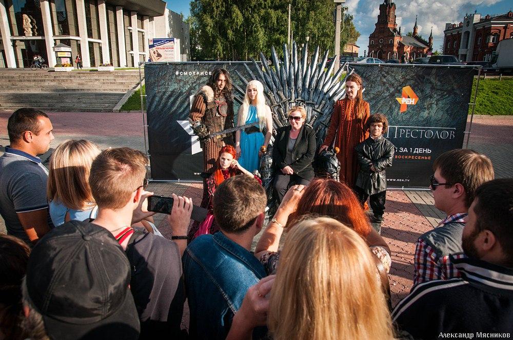 Железный трон Вестероса во Владимире 22
