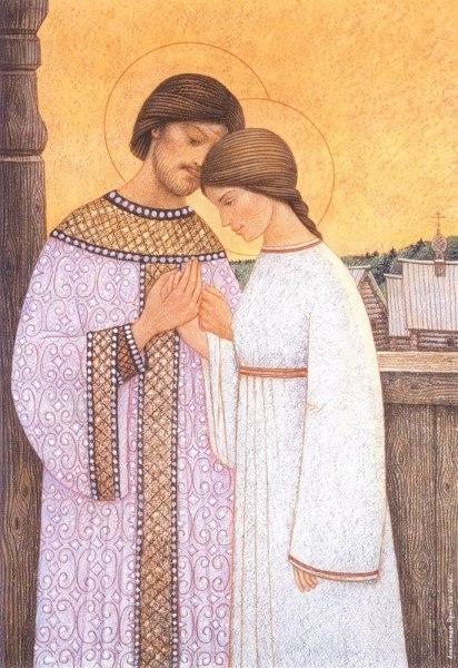 Житие святых Петра и Февронии 06