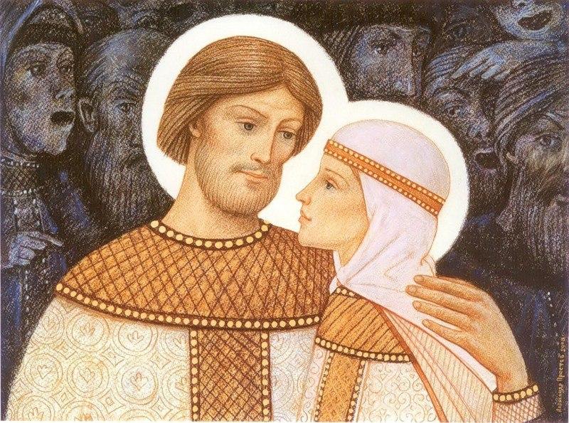 Житие святых Петра и Февронии 16