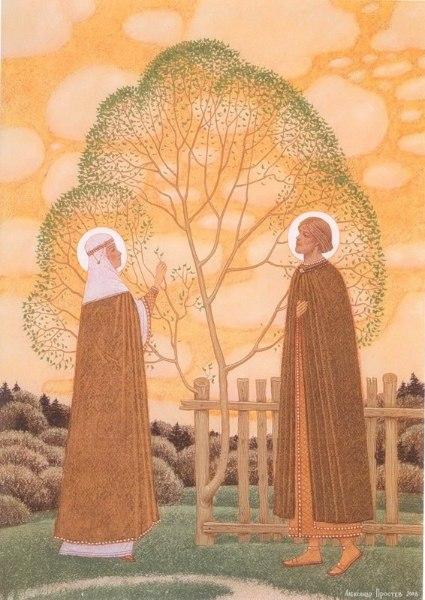Житие святых Петра и Февронии 19