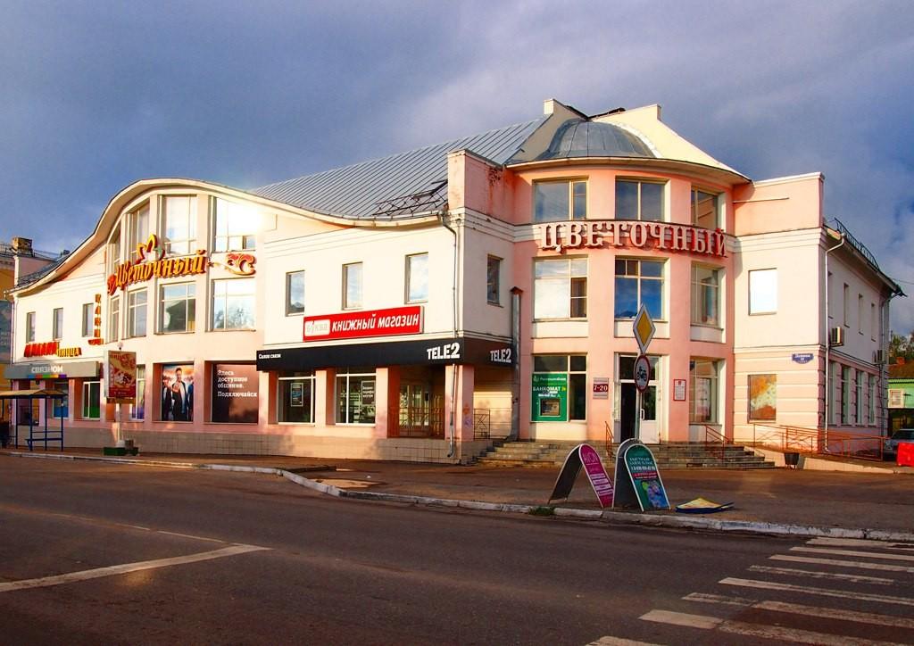 Здание ТЦ Цветочный