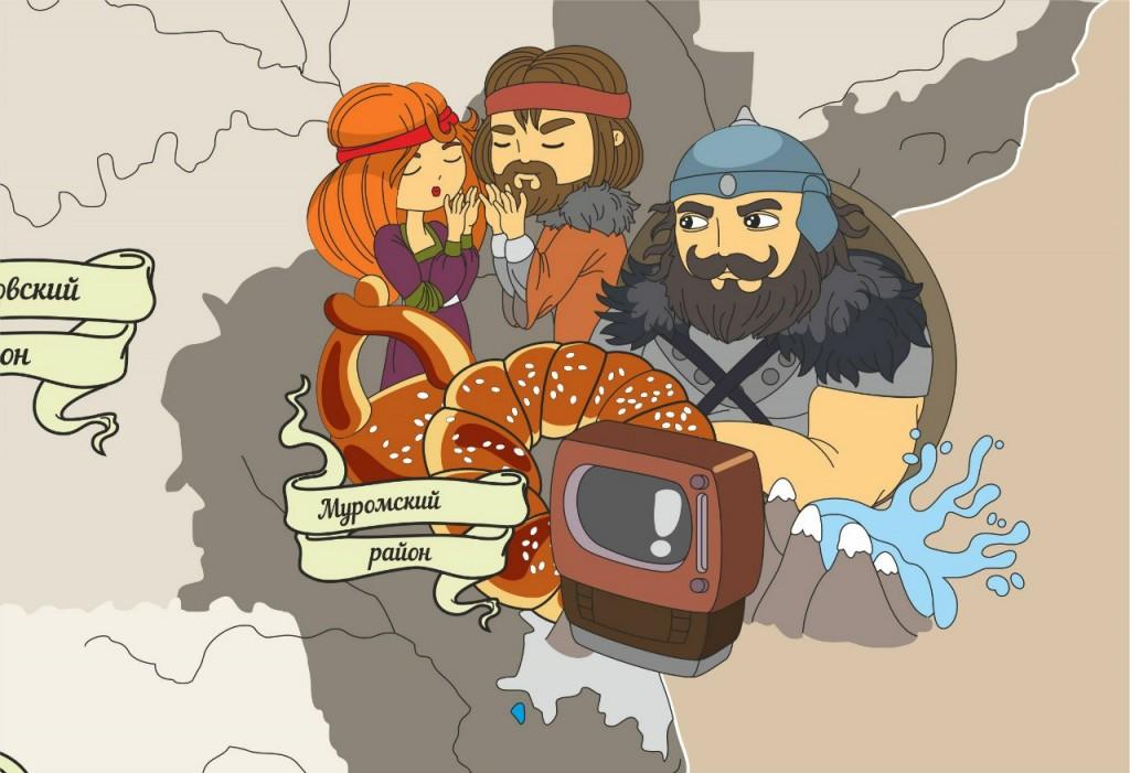 Муром - Карикатура