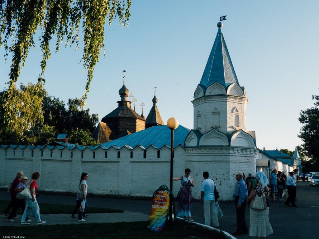 Муром на день семьи. Муромский монастырь