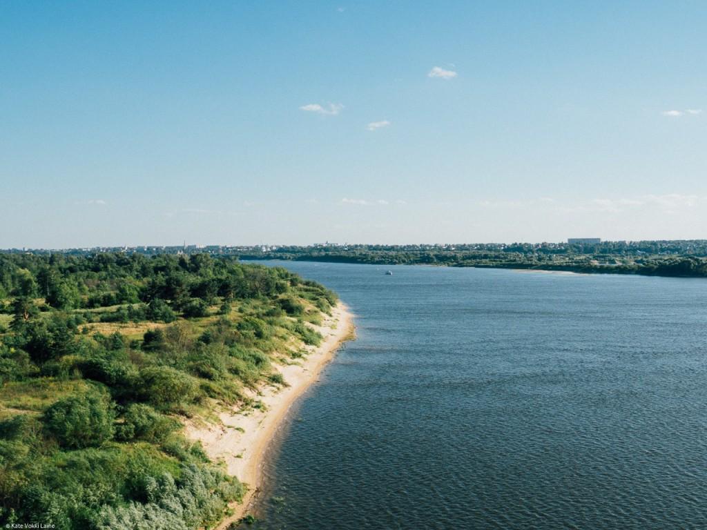 Муром на день семьи. Река Ока