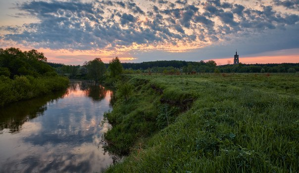 Очарование малых рек. Река Киржач.