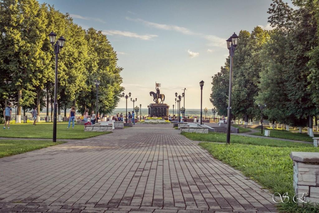 Парк Пушкина во Владимире 01