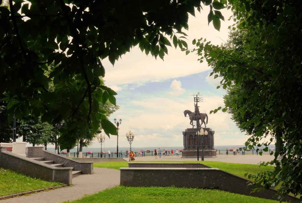 Парк Пушкина во Владимире