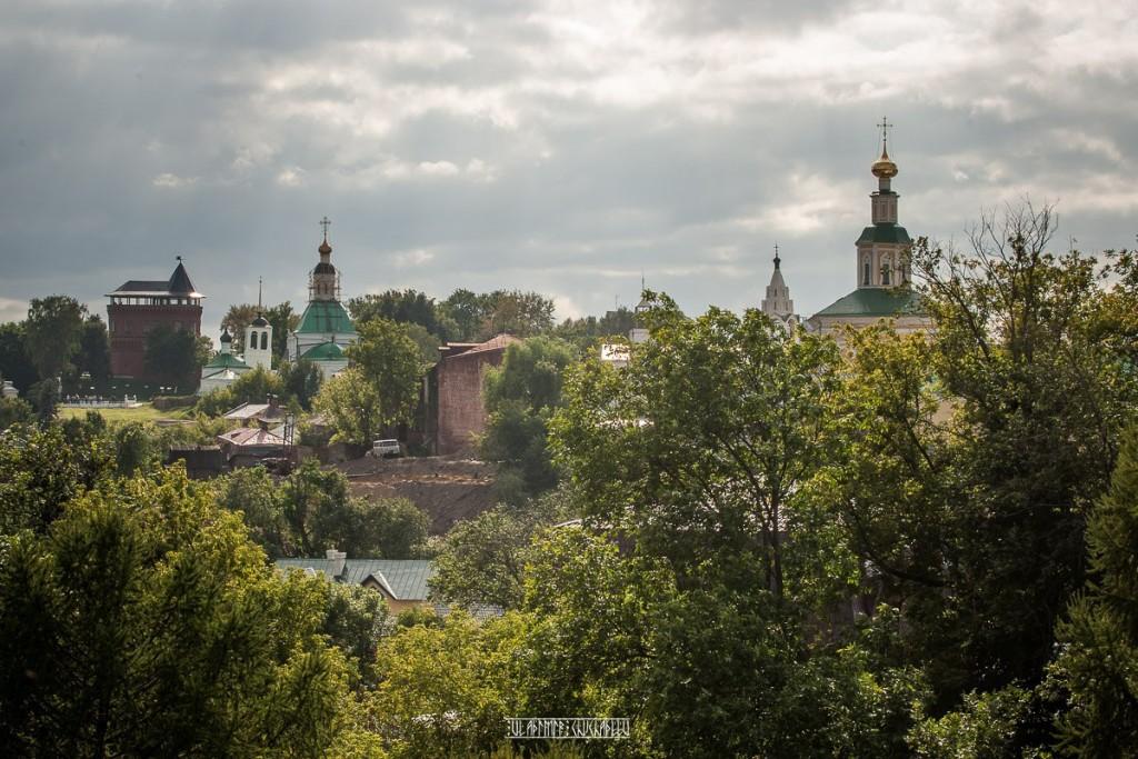 Пасмурный летний день во Владимире от Владимира Чучадеева
