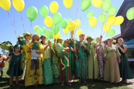 XV Международный праздник Огурца в Суздале 2015
