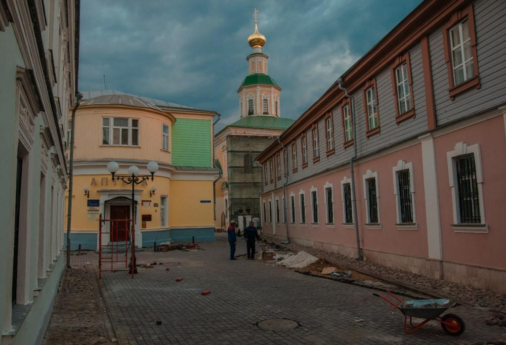 Реконструкция Георгиевской 09