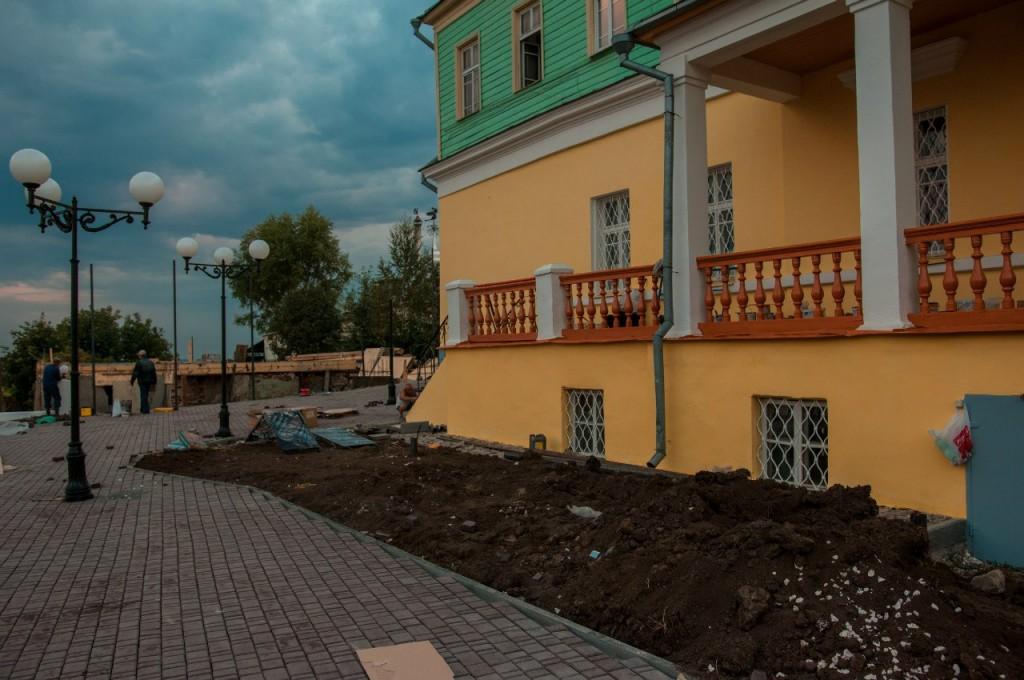 Реконструкция Георгиевской 14