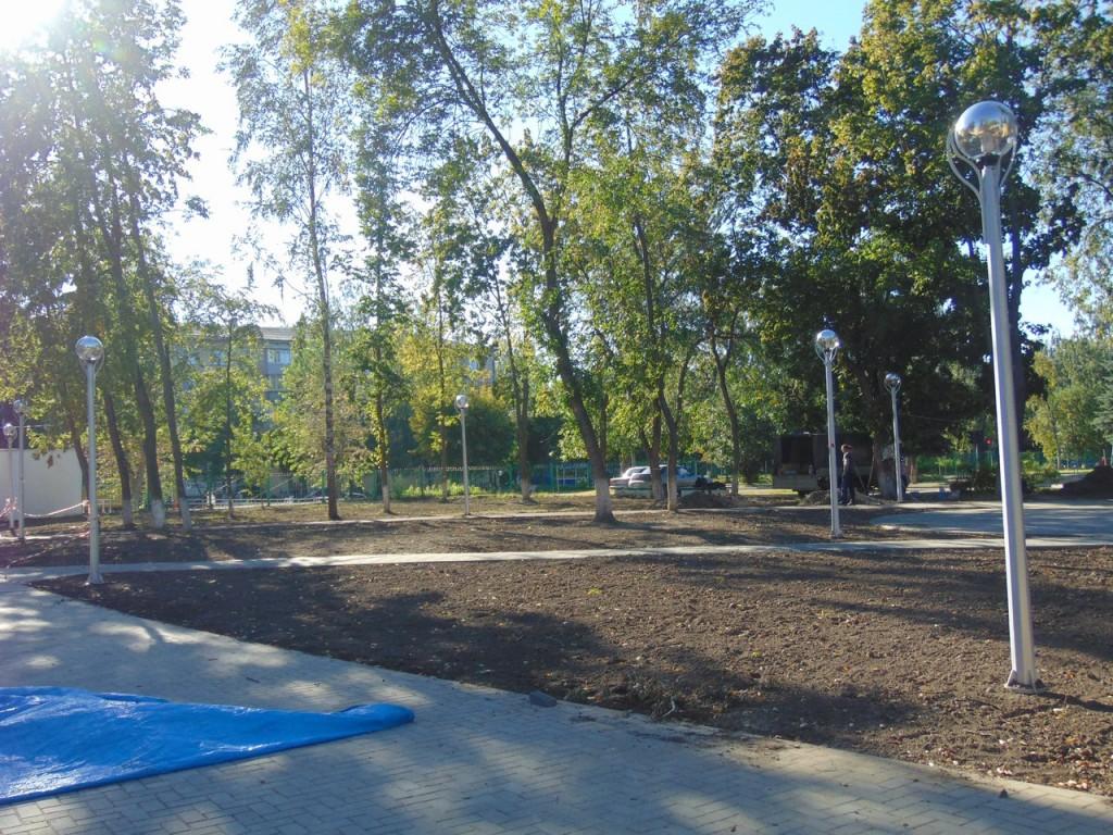 Реконструкция Парка Молодежный в Муроме