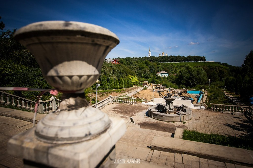 Реконструкция Патриаршего сада