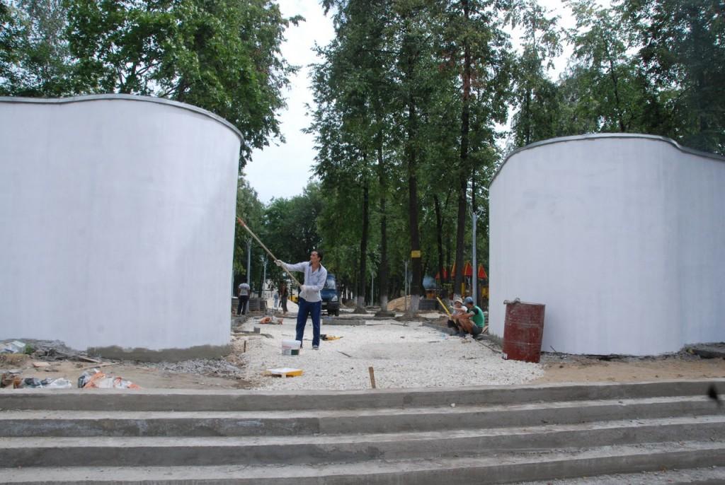 Реконструкция парка «Молодежный» в Муроме 01
