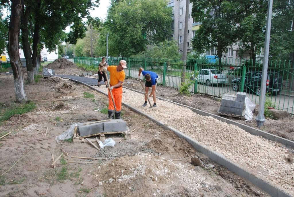 Реконструкция парка «Молодежный» в Муроме 02