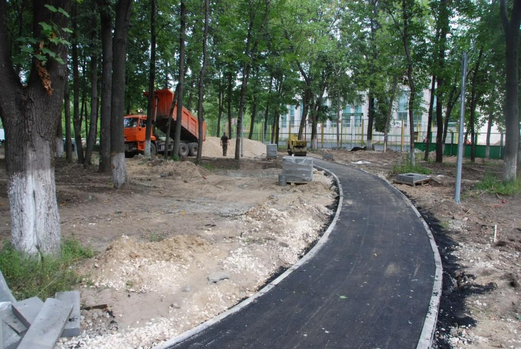 Реконструкция парка «Молодежный» в Муроме 03