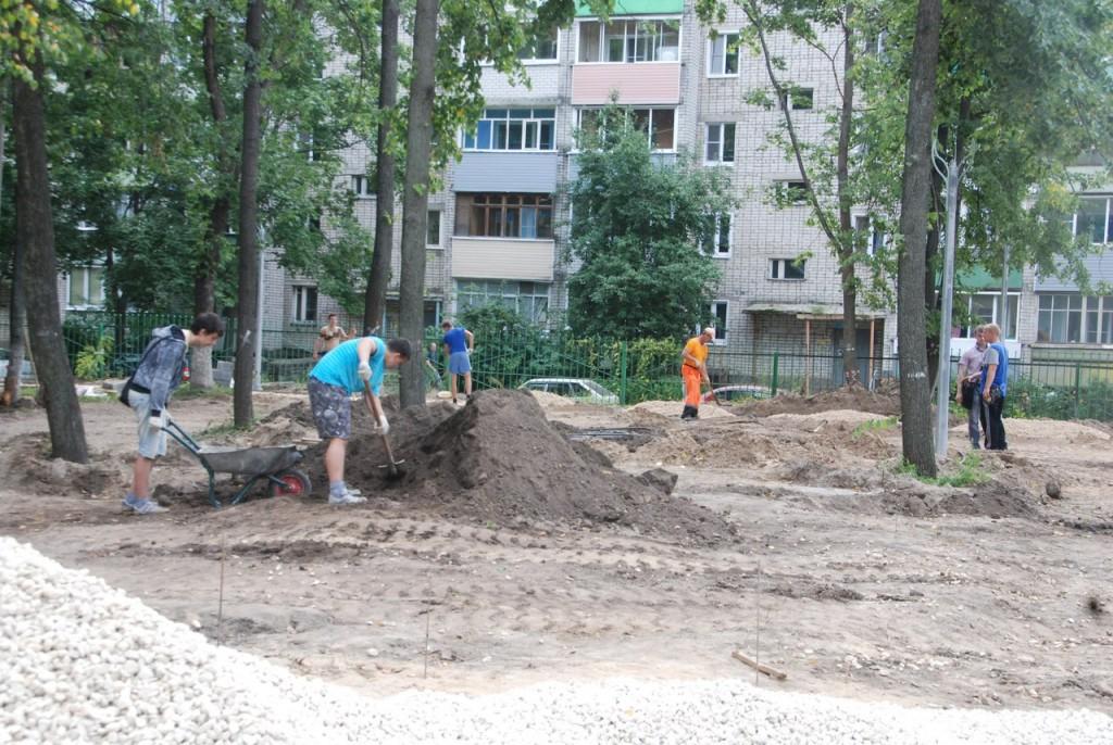 Реконструкция парка «Молодежный» в Муроме 06