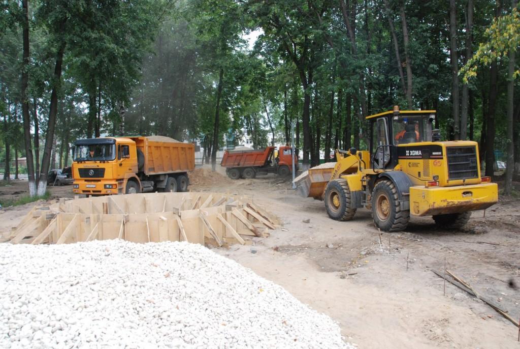 Реконструкция парка «Молодежный» в Муроме 08