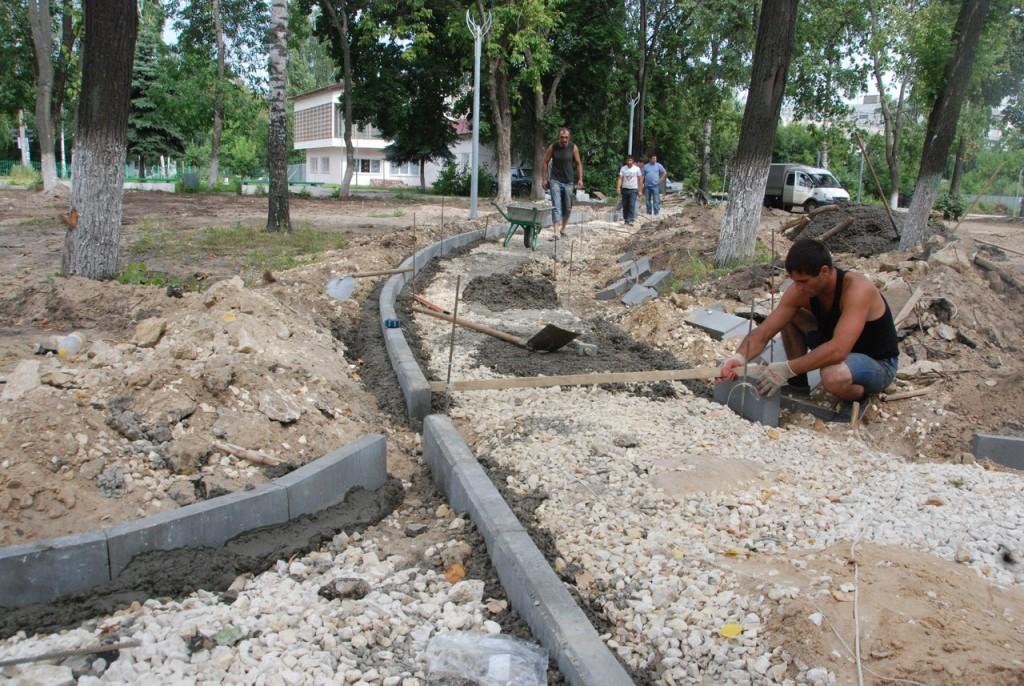 Реконструкция парка «Молодежный» в Муроме 09