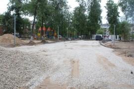 Реконструкция парка «Молодежный» в Муроме идет полным ходом!
