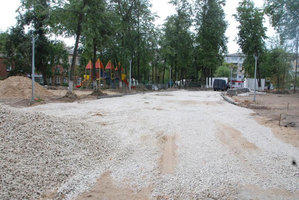 Реконструкция парка «Молодежный» в Муроме 10