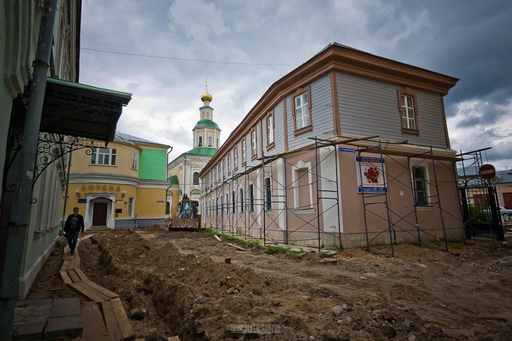 Реконструкция ул. Георгиевская во Владимире 01