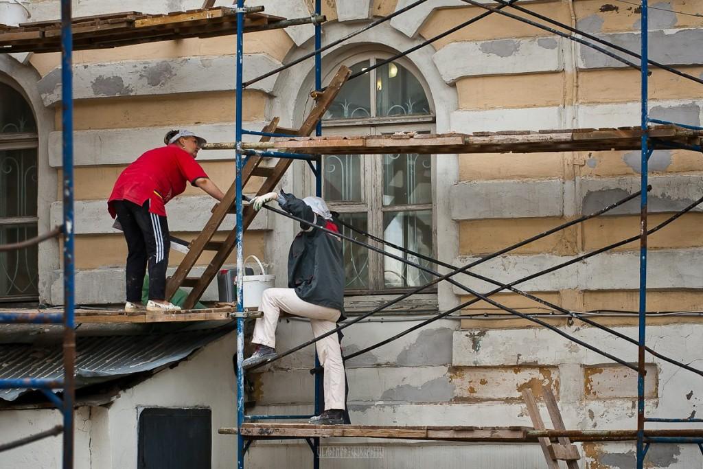 Реконструкция ул. Георгиевская во Владимире 02