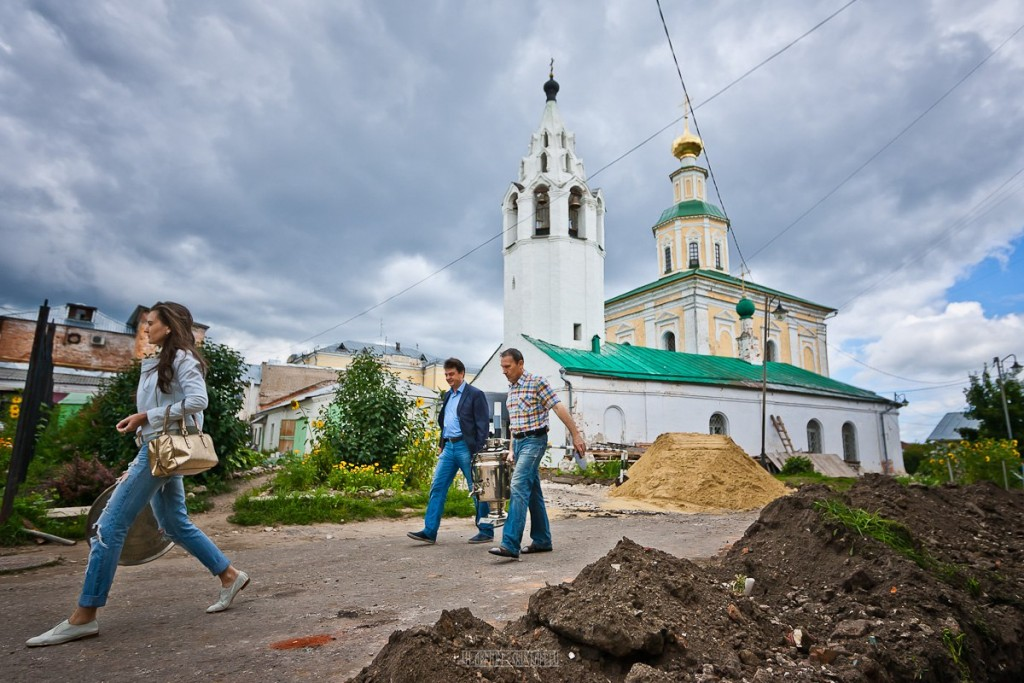 Реконструкция ул. Георгиевская во Владимире 06