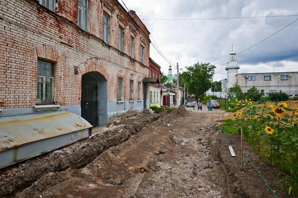 Реконструкция ул. Георгиевская во Владимире 07