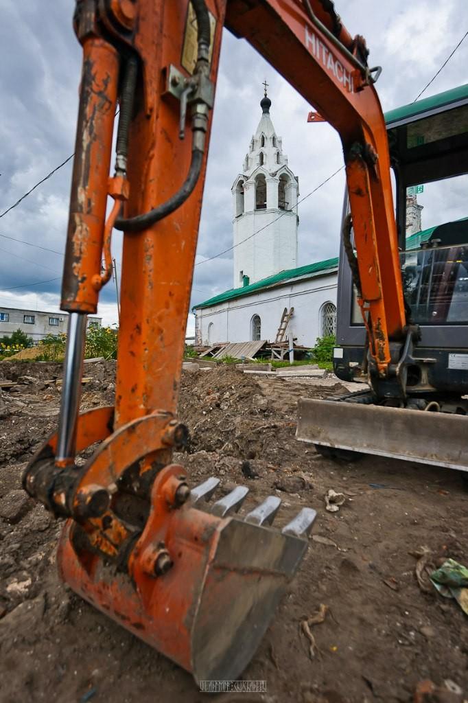 Реконструкция ул. Георгиевская во Владимире 09