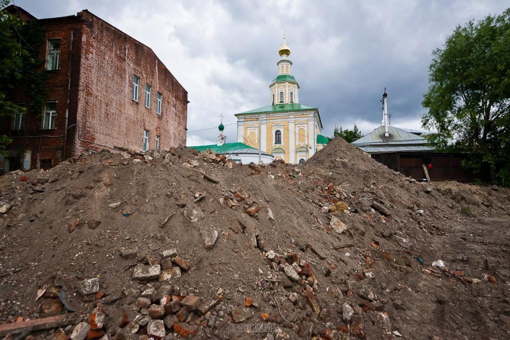 Реконструкция ул. Георгиевская во Владимире 10
