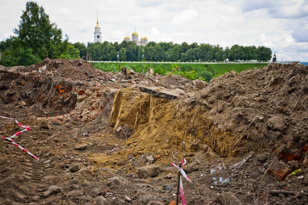 Реконструкция ул. Георгиевская во Владимире 11