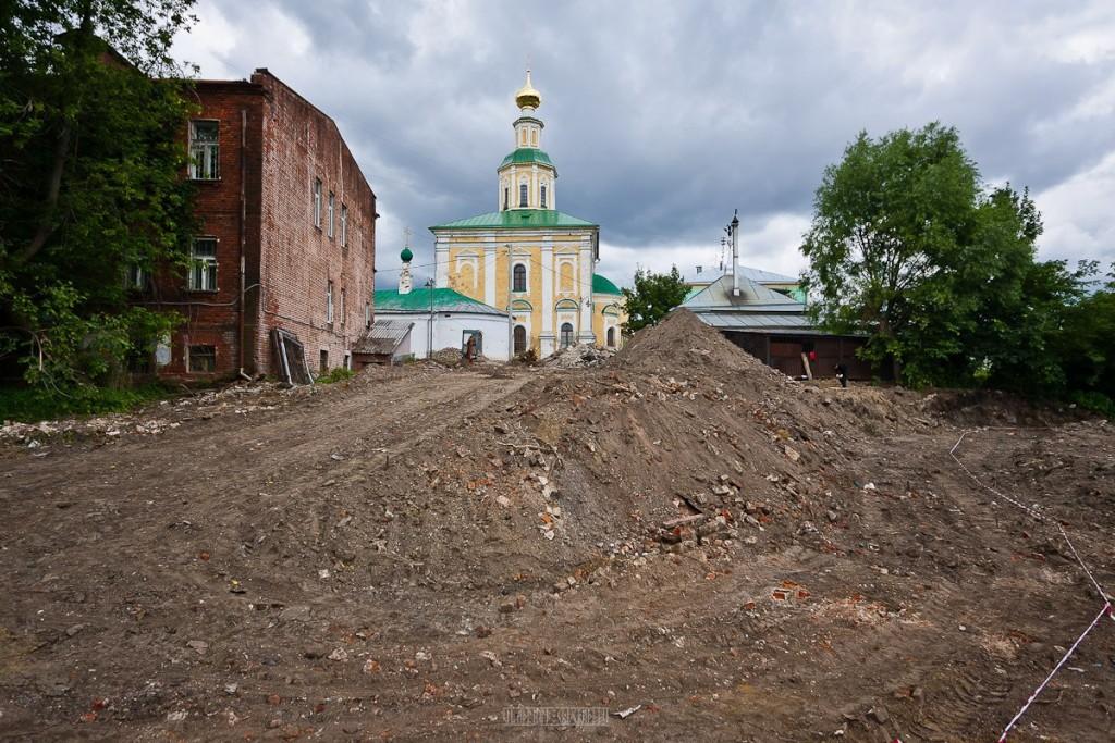 Реконструкция ул. Георгиевская во Владимире 13