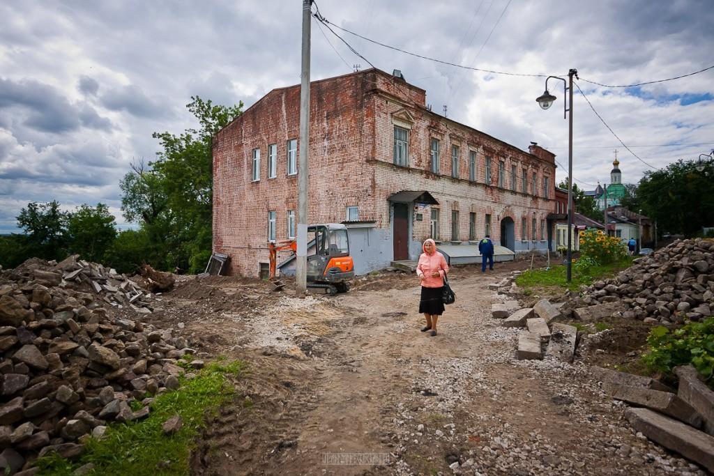 Реконструкция ул. Георгиевская во Владимире 16